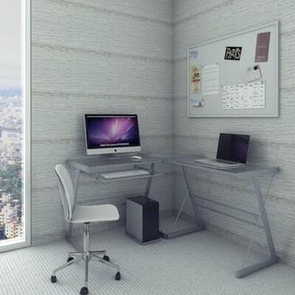 Ryan Rove Madison 3 Piece Corner L-Shaped Computer Desk Ryan Rove