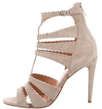 Sigerson Morrison Suede Strappy Sandals w/ Tags