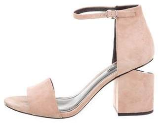 Alexander Wang Abby Suede Sandals