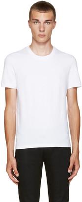 Dolce & Gabbana White Pure T-Shirt $65 thestylecure.com