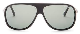 Tom Ford Unisex Chris Aviator Sunglasses $435 thestylecure.com