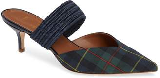 Malone Souliers BY ROY LUWOLT Maisie Plaid Banded Mule