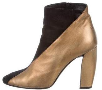 Pierre Hardy Two-Tone Leather Boots