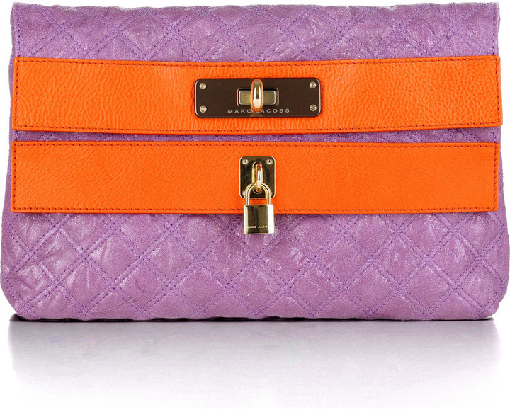 Marc Jacobs Quilted oversize pouchette