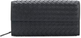 Bottega Veneta woven detail wallet