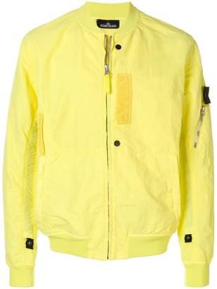 Stone Island Shadow Project zipped bomber jacket