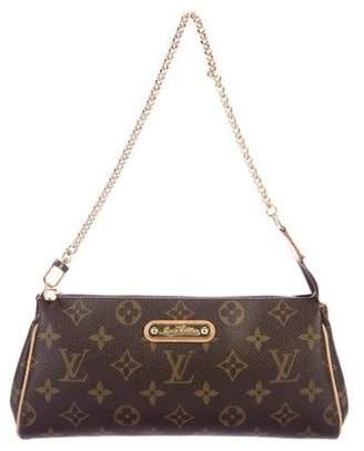 Louis Vuitton Monogram Eva Clutch w/ Strap