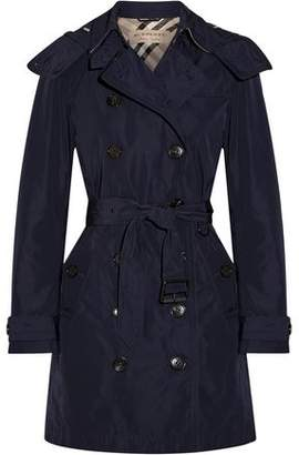 Burberry Balmoral Packaway Shell Hooded Trench Coat