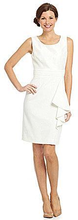 Tahari by Arthur S. Levine Tahari by ASL Lace-Bodice Jacket Dress