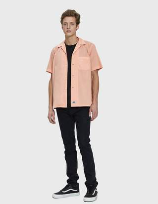 Dickies Construct Short Sleeve Work Shirt in Peach