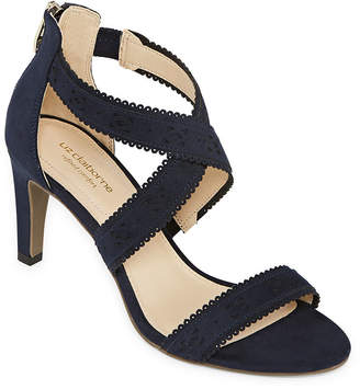 7983901f89e Liz Claiborne Womens Gisela Heeled Sandals