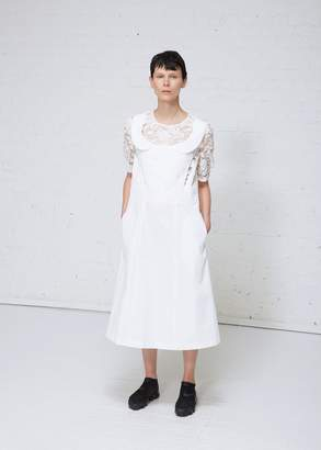 Comme des Garcons Lace Detail A-line Dress