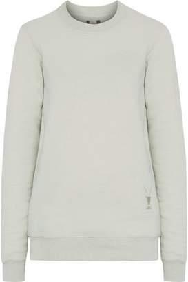 Rick Owens Embroidered Cotton-Fleece Sweatshirt