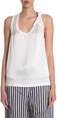 Alexander Wang Satin Tank Top