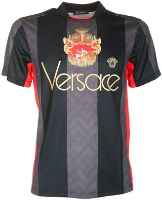 Versace Men Striped T-shirt