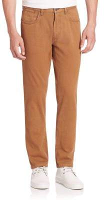Saks Fifth Avenue Sulfur Dyed Cotton Pants