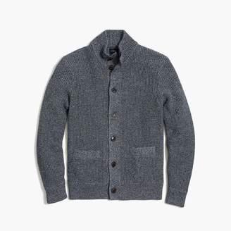 J.Crew Marled cotton sweater cardigan