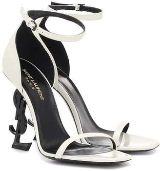 Saint Laurent Opyum 110 leather sandals