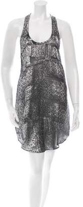Isabel Marant Metallic Scoop Neck Dress w/ Tags