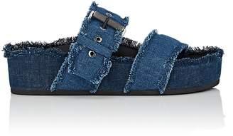 Rag & Bone Women's Evin Denim Platform Slide Sandals