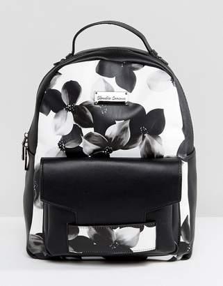 Claudia Canova Floral Print Backpack
