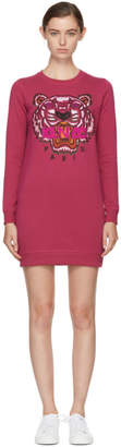 Kenzo Pink Tiger Sweatshirt Dress