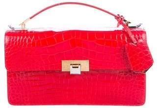 Balenciaga Embossed Le Dix Cartable Bag