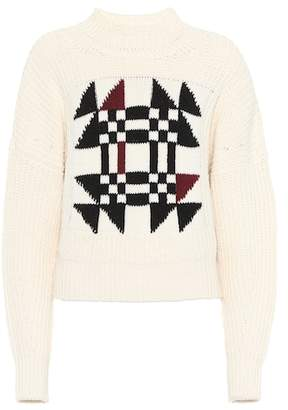 Isabel Marant Lawrie cotton and wool-blend sweater