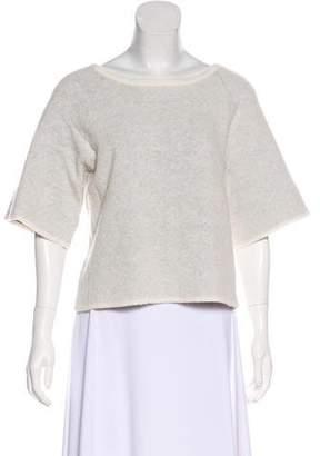 A.L.C. Wool Knit Crop Sweater