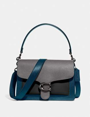 Coach Tabby Shoulder Bag In Colorblock
