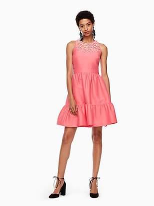 Kate Spade Pearl embellished mikado dress