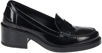 Tod's Chunky Heel Loafers