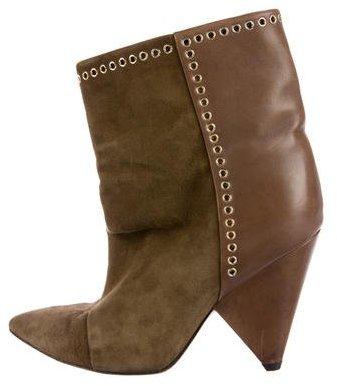 Isabel MarantIsabel Marant Leather & Suede Andrew Booties