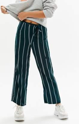 LA Hearts Striped Tie Front Pants