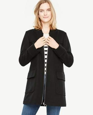 Ann Taylor Tall Hooded Duffle Coat