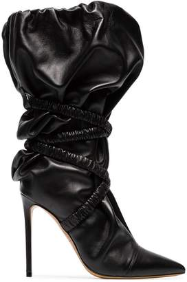 Alexandre Vauthier Dune 100 wraparound leather boots