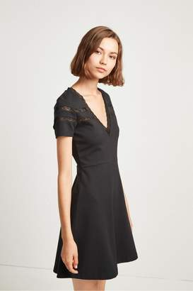 French Connection Vachel Jersey Fit and Flare Dress