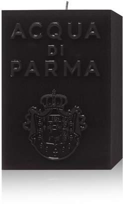 Acqua di Parma Large Black Cube Candle - Amber