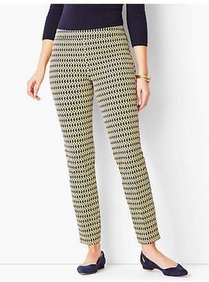 Talbots Chatham Ankle Pant - Curvy Fit/Abstract Oval