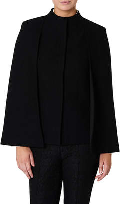 David Lawrence Felicity Felted Wool Cape