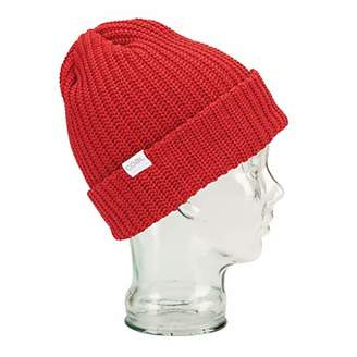 Coal Men's The Eddie Recycled Rib Knit Beanie Hat