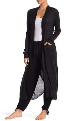Shimera Knit Wrap Cardigan Robe