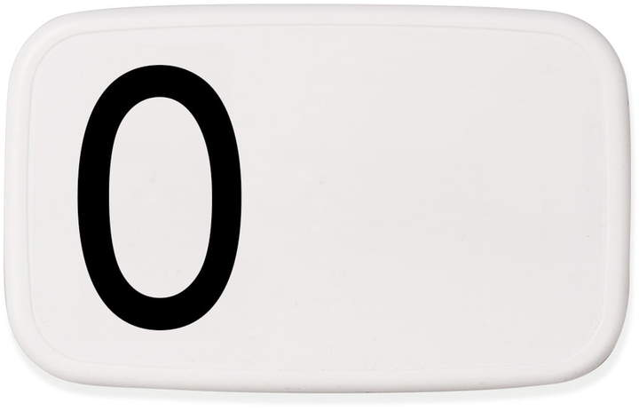 Design Letters - Personal Lunch Box, O