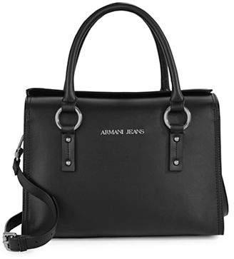 Armani Jeans Small Eco-Leather Handbag