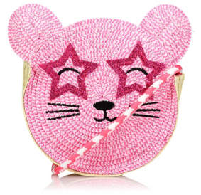 George Woven Paper Mouse Cross Body Bag