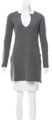 Rosetta Getty Cashmere Rib Knit Sweater