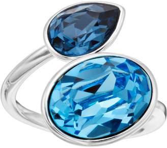 Brilliance+ Brilliance Oval Teardrop Ring with Swarovski Crystals