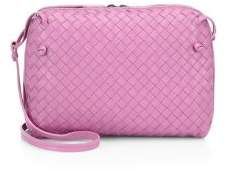Bottega Veneta Intrecciato Leather Double-Zip Pillow Bag