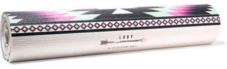 La Vie Boheme Yoga - Phoenix Printed Yoga Mat - Black