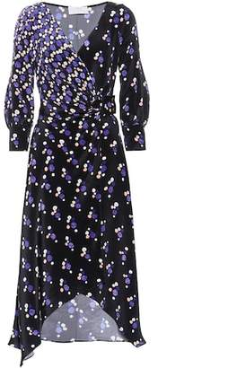 Peter Pilotto Printed wrap-style silk dress